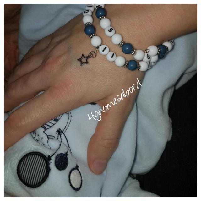 cadeau naissance bracelet allaitement