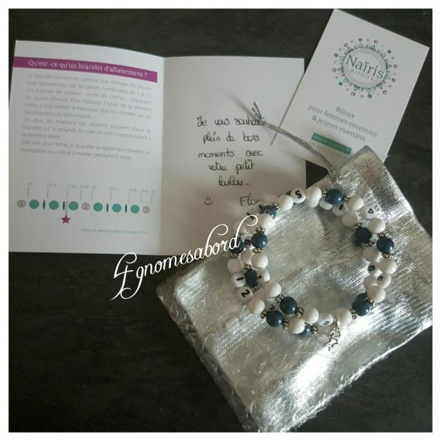 nairis bijoux bracelet allaitement
