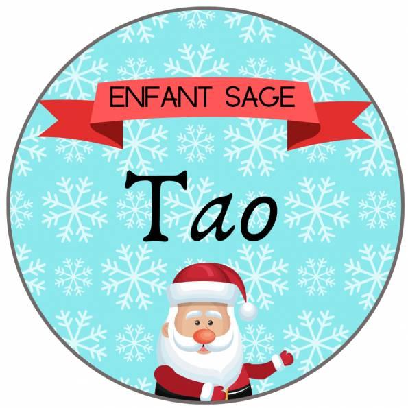 Enfant Sage - Badge Famille Personnalisé