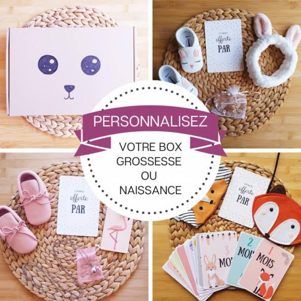 Personnalisez votre BOX Grossesse ou Naissance