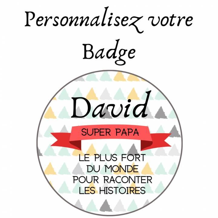 Personnalisez votre Badge