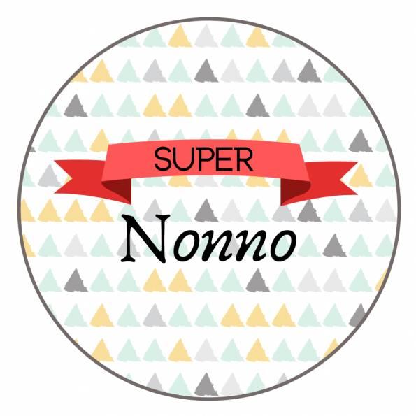 Super Nonno - Badge Famille