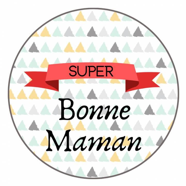 Super Bonne Maman - Badge Famille