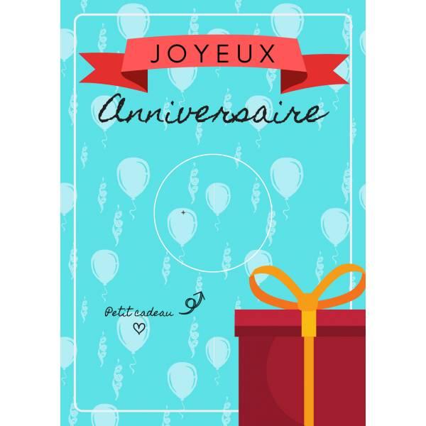 Carte Joyeux Anniversaire Et Badge Super Bon Papa Idee Cadeau