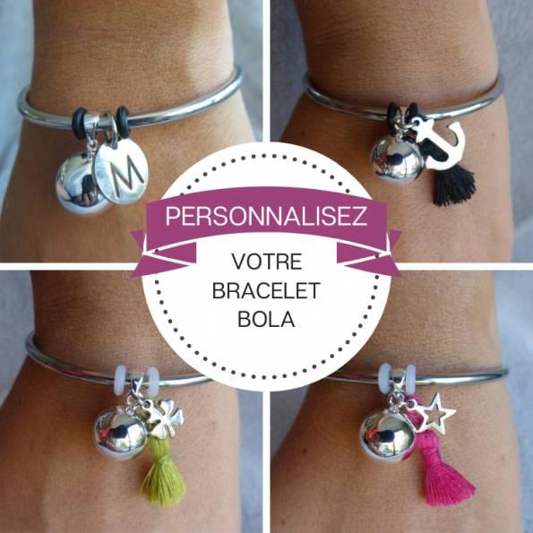 Personnalisez votre bracelet bola de grossesse
