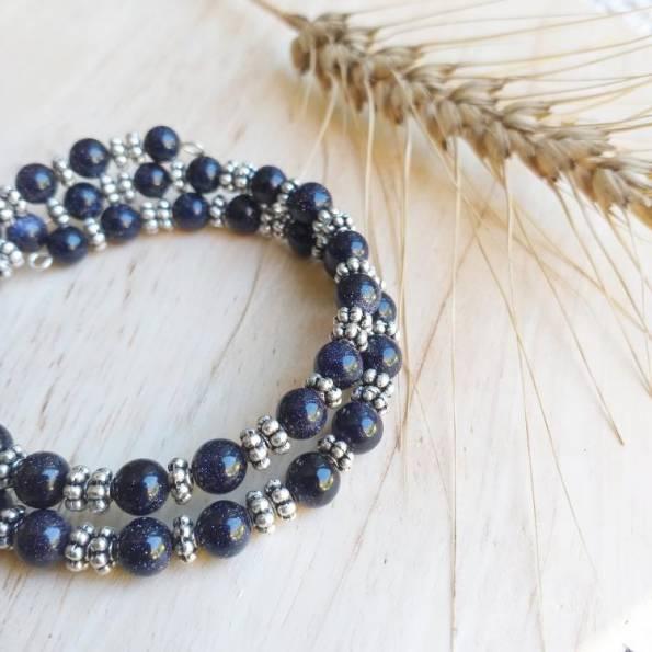 Bracelet Pierre du soleil Nha