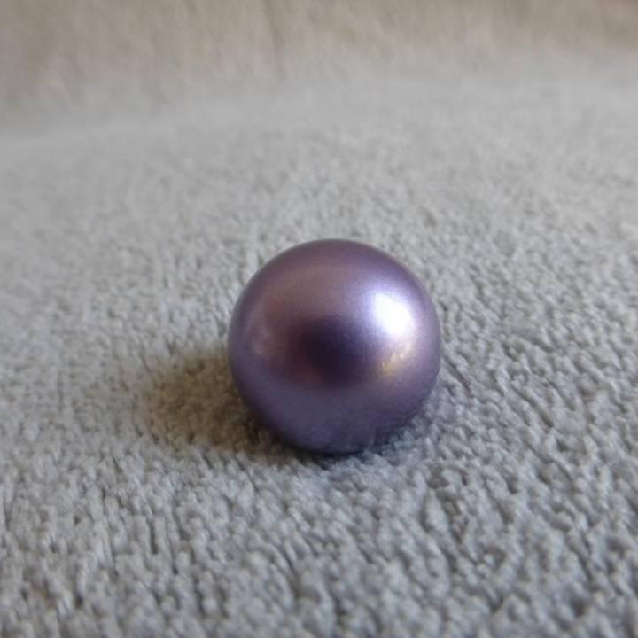Bille mauve irisée, pour bola de grossesse