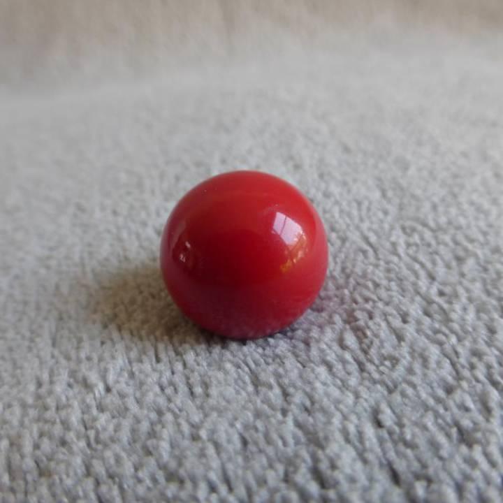 Bille rouge, pour bola de grossesse