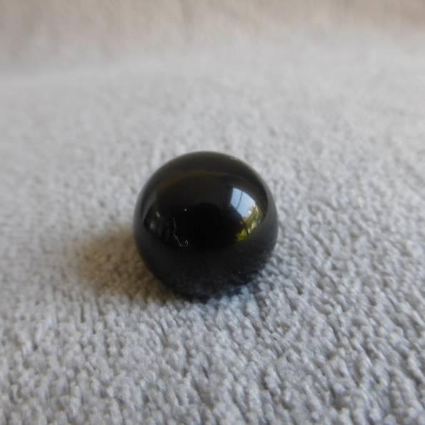 Bille noire, pour bola de grossesse