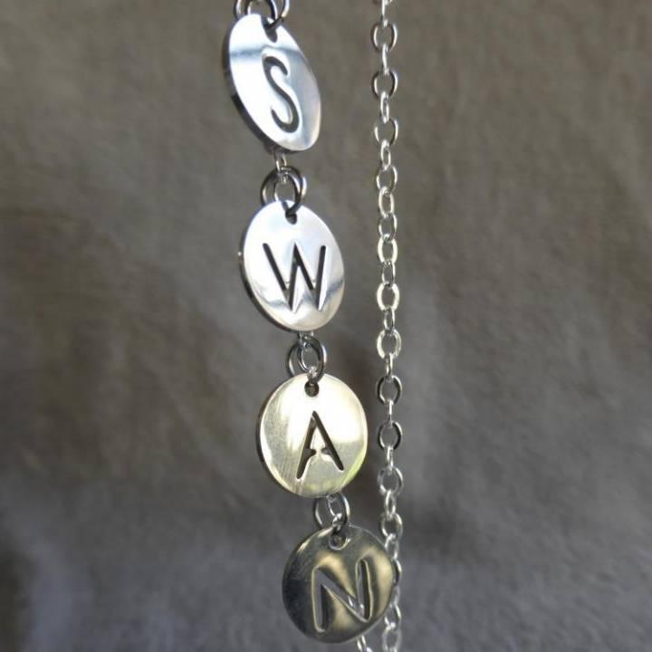 Prénom ou mot sur chaine (prix pour une lettre)
