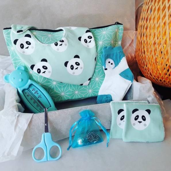 BOX Grossesse Mixte - Panda - A personnaliser