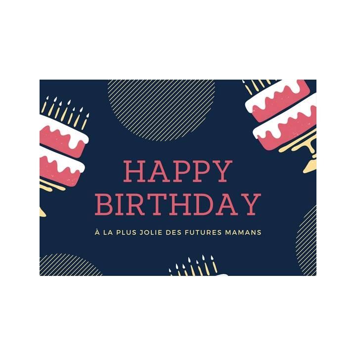 Happy Birthday Futures Mamans Carte De Voeux