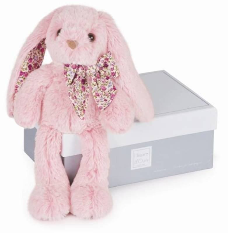Peluche lapin Rose - Histoire d'Ours